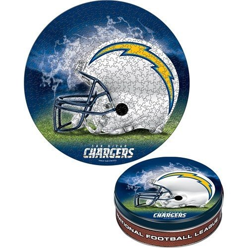 WinCraft San Diego Chargers 500ピースパズルin Collectable Tin