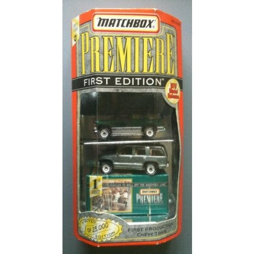 MATCHBOX 1998 Premiere First Edition Collection - Chevy Tahoe