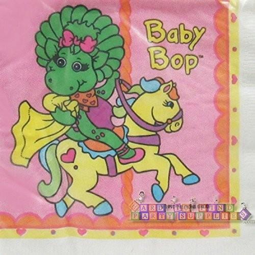 Barney 'Baby Bop' Vintage Lunch Napkins (16ct)