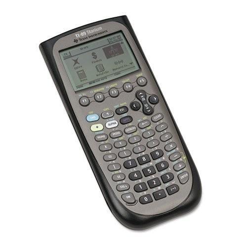 Texas Instruments TI-89 Titanium Titanium Programmable Graphing Calculator by Texas
