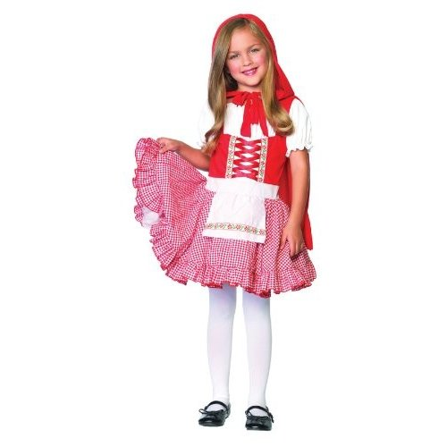 Lil Miss 赤 Child Costume ( Large )