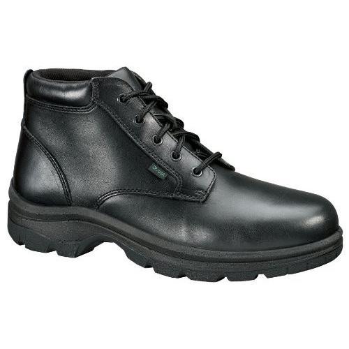 Thorogood Women 's Plain Toe Chukkaブーツ カラー: ブラック