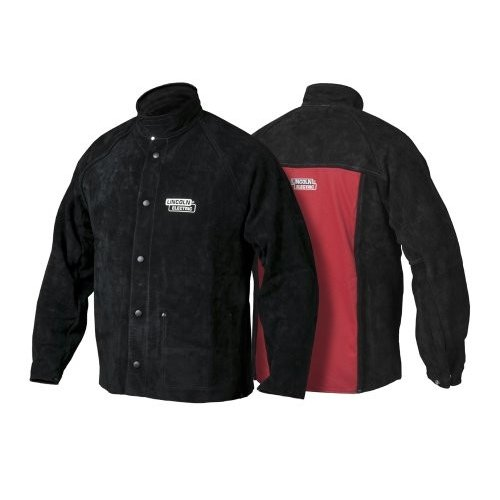 Lincoln Electric K2989 Heavy Duty Leather Welding Jacket, Large by Lincoln