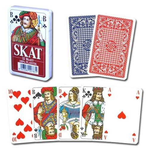 Modiano Skat 100% Plastic Playing Cards - 2 Decks