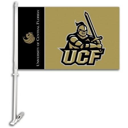 NCAA ルイジアナ ラファイエット レイジン ケージョン カー フラッグ 取り付け用ブラケット ワンサイズ カモフラージュ