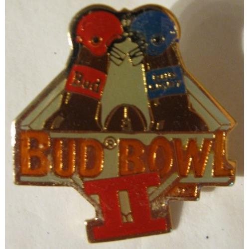 公式Bud Bowl IIピン[ 1989?]