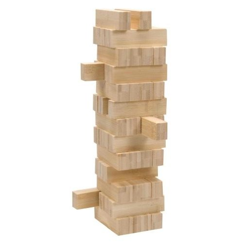 Schylling Bamboo Tumbling Tower