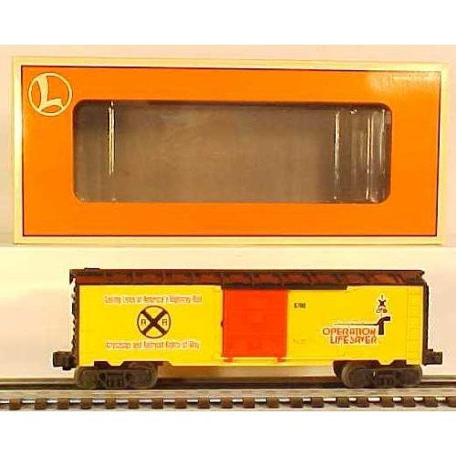 Lionel 6-26201 Operation Lifesaver Boxcar