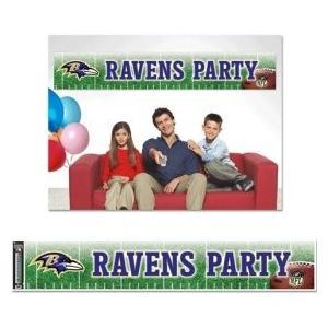 見事な NFL Baltimore Ravens wcr48819011パーティーバナー、12?