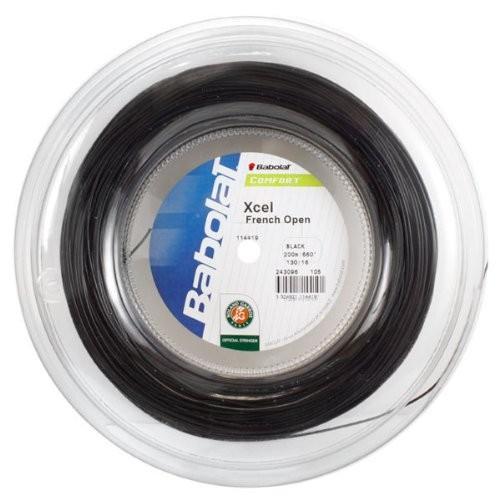 バボラ ガット エクセル フレンチオープン(200m)(243111)(243111)/ブラック/1.30mm
