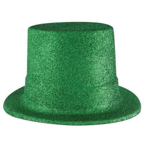 Beistle 30802-g 24パックGlitte赤 Top Hats、グリーン