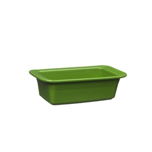 Fiesta 813-324 Loaf Pan, 5-3/4-Inch by 10-3/4-Inch, Shamrock by Homer Laugh