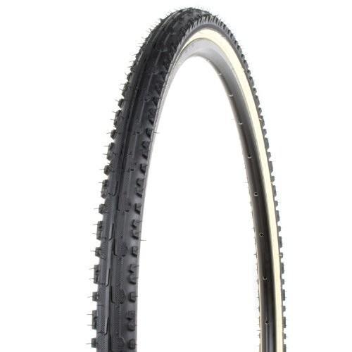 Kenda K847 Kross Plus Tire - 700c x 40, 50-75 PSI, 黒 w/Skinwall by Kend