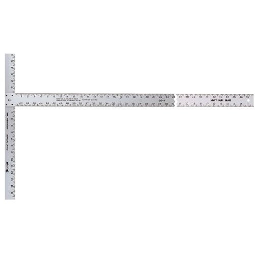 Starrett DS-4 Aluminum Drywall Square, 22 x 48 Length by Starrett