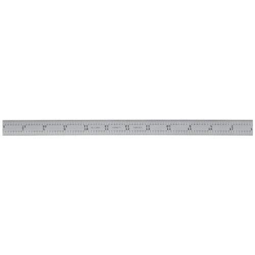 Starrett C305R-24 Full Flexible Steel Rule With Inch Graduations, 5R Style