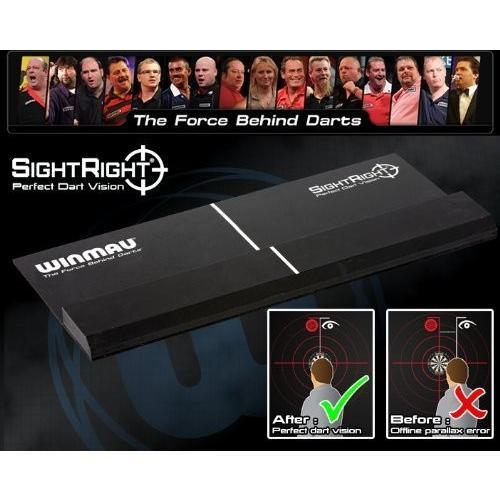 【ラッピング不可】 Sight Right - Perfect training Aid for Dart Vision and Accuracy - Winmau, ヤマテソン 43f881b5