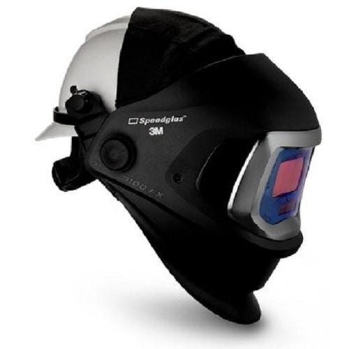 3M 06-0600-10HHSW Speedglas 9100 FX Welding Helmet, Welding Safety with Har