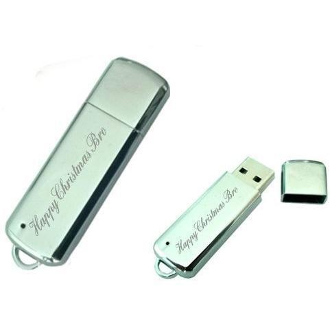 HappyクリスマスBro 8·GB USBメモリスティック/フラッシュドライブ·カスタムEngraved withギフトパッケージ
