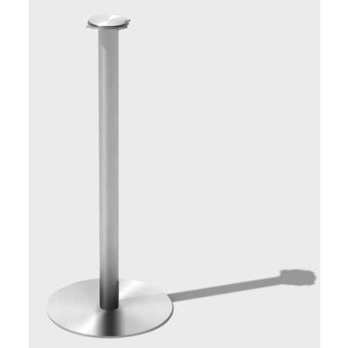 Mod18 Steelworks SB-04 Bucket Stand, 25 Tall, Brushed Stainless by SteelFor
