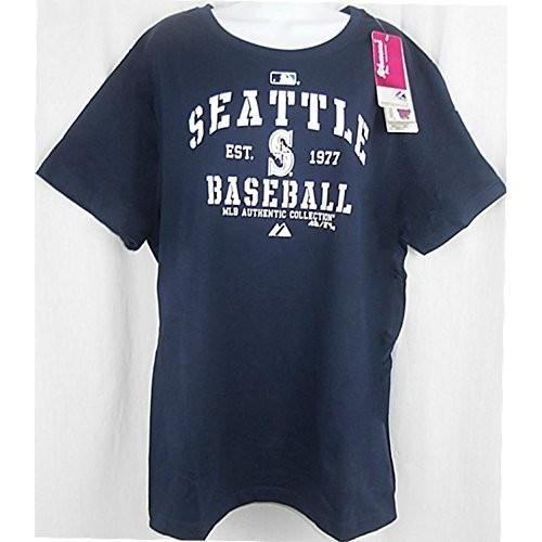 【絶品】 Seattle Mariners Seattle XL MLBマジェスティックAuthenticレディースネイビーシャツプラスサイズ XL, おおまつ米穀店:39eaf121 --- airmodconsu.dominiotemporario.com
