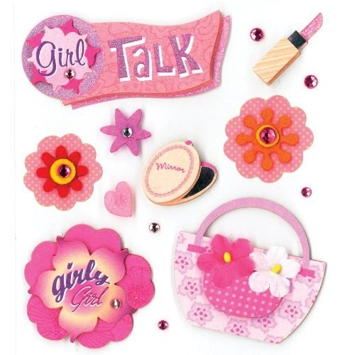K&Company Girly Girl Grand Adhesions Stickers by by K&Company