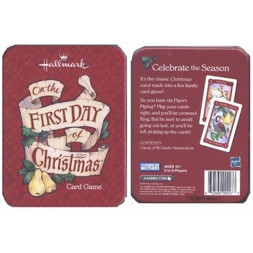 Hallmark Card Game on the First Day of Christmas