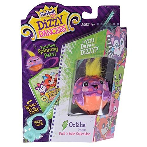 FurReal Friends Dizzy Dancers Rock 'N Swirl Collection Octilia Pet by Fur R