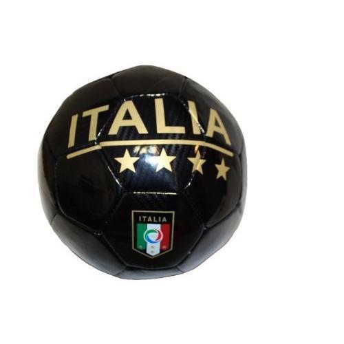 ItaliaイタリアブラックFIGCロゴFIFA World Cup Soccer Ball Size 5。。新しい