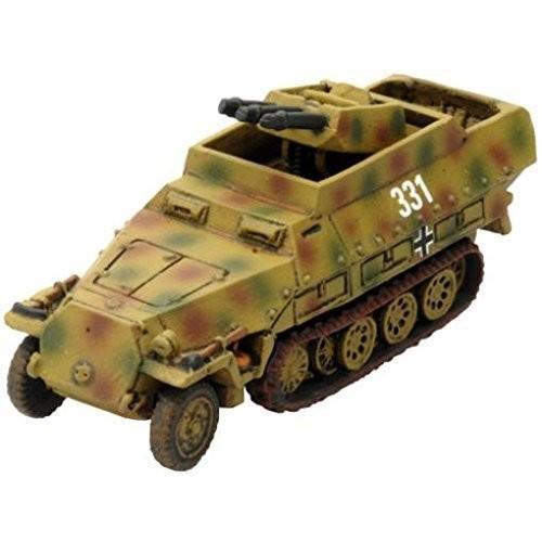 Flames of War: Sd Kfz 251/21 (Triple 2cm) by Battlefront Miniatures [並行輸入品]