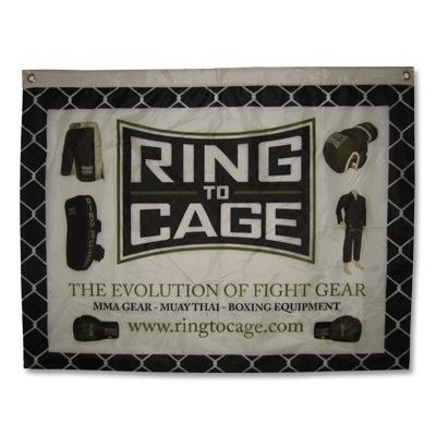 Ring to Cage EVOLUTION Banner