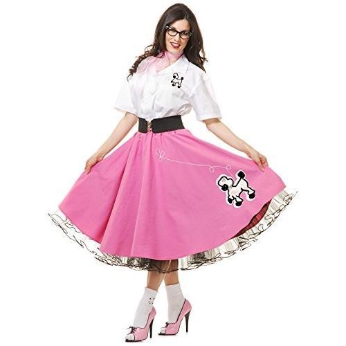 Complete 50のプードルの衣装ピンクコスチューム US サイズ: M カラー: ピンク