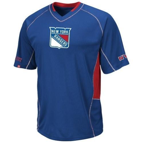 100%本物保証! New ブルー York New Rangersロイヤルブルースイープチェック合成Vネックトップ ブルー, アールエス:842c7ac4 --- airmodconsu.dominiotemporario.com