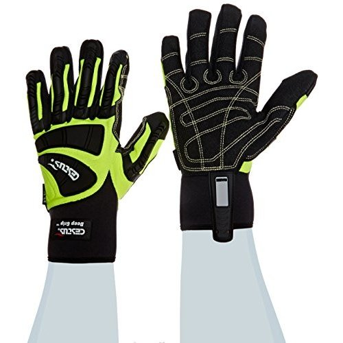 Cestus Pro Series Deep Grip Kool Impact Glove, Large (Pack of 1 Pair) by Ce