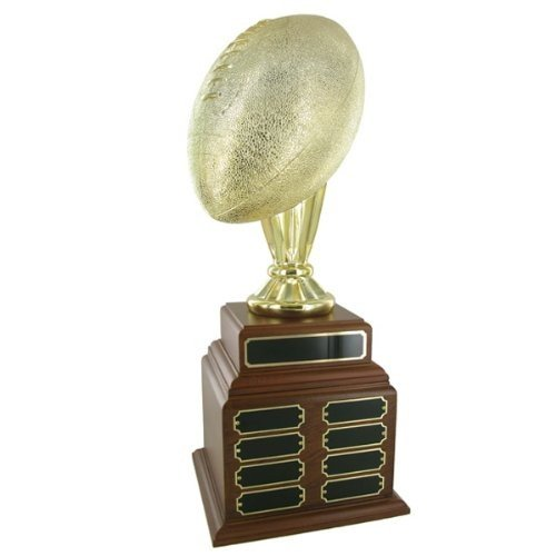PerpetualゴールドメタリックFootball Trophy