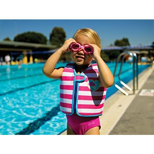 Zoggs Girl's Little Comet Strawberry Swimming Goggles - Pink, 2-6 Years by