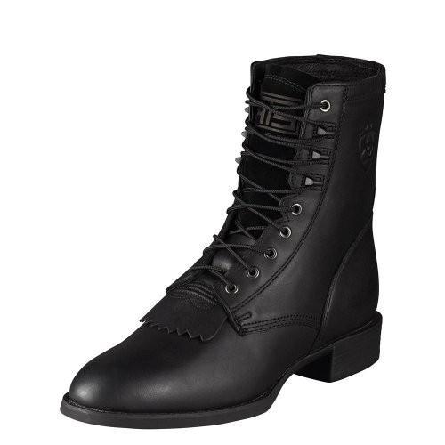 完璧 AriatメンズHeritage Lacer Lacer Boot Boot ブラック ブラック, タキカワシ:a9612429 --- airmodconsu.dominiotemporario.com