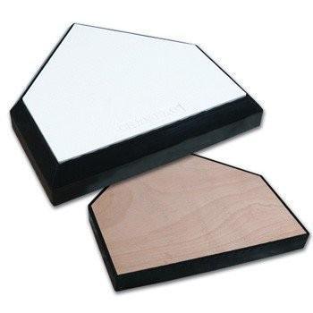 【新発売】 Champro Proホームプレートwith Solid Wood Bottom, FULLangle 42b3e9db