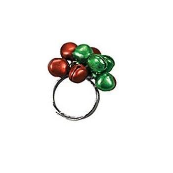 Jingle Bell調節可能なring-assortedのセット3