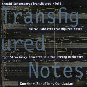 Schoenberg/Babbit/Stravinsky