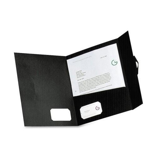 Pendaflexポケットポートフォリオ、ブラック、4パック( ess04261?)カテゴリ:ポートフォリオとレポートカバー