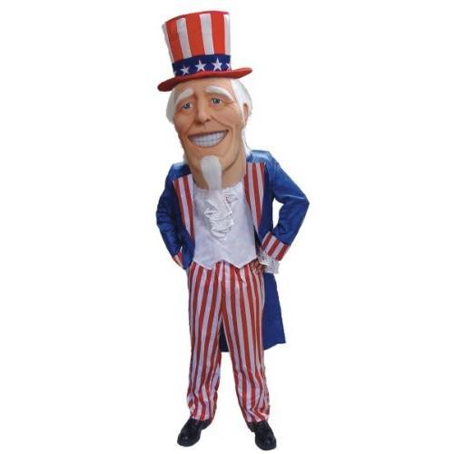Uncle Samマスコットコスチューム