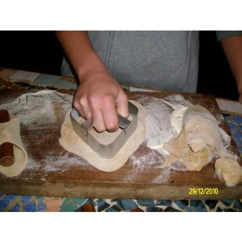 Traditional Cannoli Cutter - Metalic Heavy Duty Hand Made by franco-si