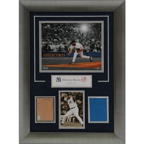 【最安値挑戦】 MLBニューヨークヤンキース7565?Mariano Rivera 14?x 20?Framed古いStadium汚れと壁パネルコラージュ, ペットシーツ専門店エイクス d2df3714