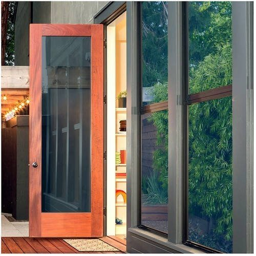 窓用フィルム プレミアムカラー 優れた断熱性と日中のプライバシー保護 ブルー 60 Inch x 50 Feet