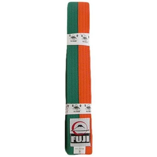 Fujiスポーツベルト、オレンジ/グリーン