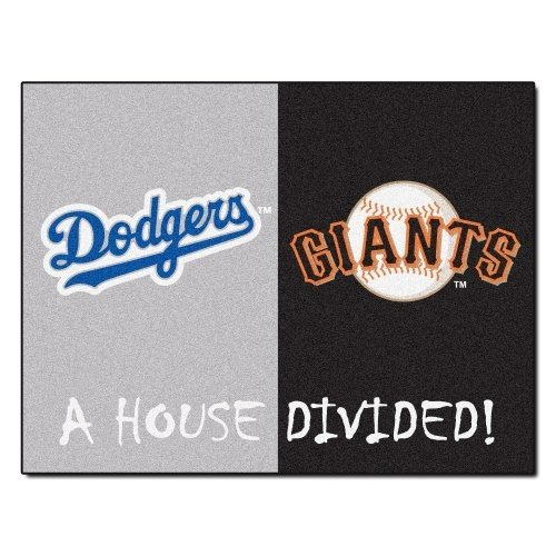 Fanmats MLB家Dividedナイロン面家Divided Rug