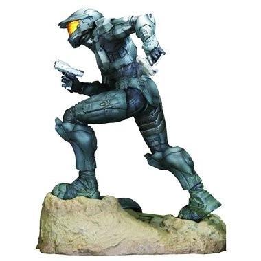 Halo 3 Exclusive 12 Inch Deluxe Steel Spartan ARTFX Vinyl Statue by Halo