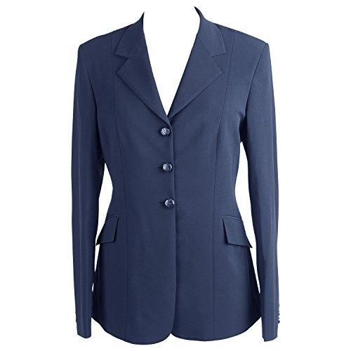 (10) - Huntley Equestrian Ladies Competition Jacket, Navy