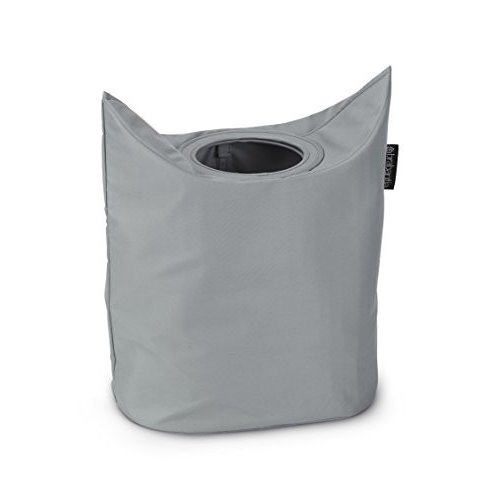 Brabantia Portable Laundry Basket and Bag - グレー by Brabantia