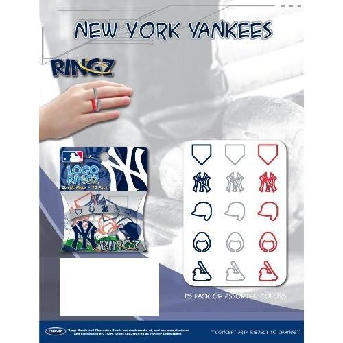 MLBニューヨークヤンキースロゴバンドRingz